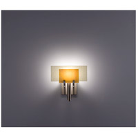 WPT Design DESSY1-TF/FLSN Dessy One 1 Light 11 inch Stainless Steel ADA Wall Sconce Wall Light in Toffee, Snow