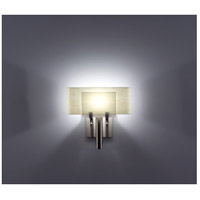 WPT Design DESSY1-WH/CVSN Dessy One 1 Light 11 inch Stainless Steel ADA Wall Sconce Wall Light in White, Snow