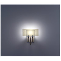 WPT Design DESSY1-WH/FLSN Dessy One 1 Light 11 inch Stainless Steel ADA Wall Sconce Wall Light in White, Snow