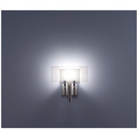 WPT Design DESSY1-WH/FLWH Dessy One 1 Light 11 inch Stainless Steel ADA Wall Sconce Wall Light in White