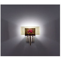 WPT Design DESSY1-WR/CVSN Dessy One 1 Light 11 inch Stainless Steel ADA Wall Sconce Wall Light in Wired Rose Snow
