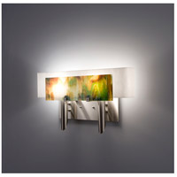 WPT Design DESSY2-MD/CVWH Dessy 2 Light 19 inch Stainless Steel ADA Wall Mount Wall Light in Meadow White