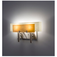 WPT Design DESSY2-TF/CVSN Dessy 2 Light 19 inch Stainless Steel ADA Wall Mount Wall Light in Toffee Snow