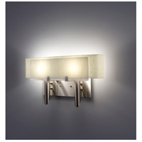 WPT Design DESSY2-WH/CVSN Dessy 2 Light 19 inch Stainless Steel ADA Wall Mount Wall Light in White Snow