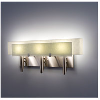 Dessy 3 Light 27 inch Stainless Steel ADA Wall Mount Wall Light in Snow