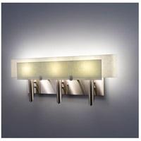 WPT Design DESSY3-SN/CVSN Dessy 3 Light 27 inch Stainless Steel ADA Wall Mount Wall Light in Snow