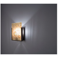 F/N 1 1 Light 8 inch Bronze ADA Wall Mount Wall Light in Amber Lemon Drop