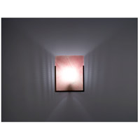 F/N 1 1 Light 8 inch Bronze ADA Wall Mount Wall Light in Blush