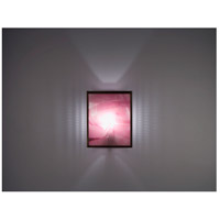 F/N 2 2 Light 8 inch Bronze ADA Wall Mount Wall Light in Merlot, Fluorescent