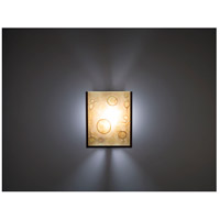 WPT Design FN2IO-BZ-ALD F/N 2IO 1 Light 8 inch Bronze ADA Wall Sconce Wall Light in Amber Lemon Drop