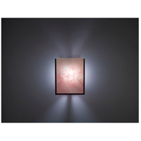 WPT Design FN2IO-BZ-BLS F/N 2IO 1 Light 8 inch Bronze ADA Wall Sconce Wall Light in Blush