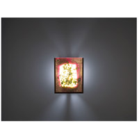 WPT Design FN2IO-BZ-FUZ F/N 2IO 1 Light 8 inch Bronze ADA Wall Sconce Wall Light in Fuzzy