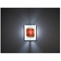WPT Design FN2IO-BZ-MB F/N 2IO 1 Light 8 inch Bronze ADA Wall Sconce Wall Light in Mesh & Bits