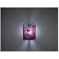 WPT Design FN2IO-BZ-WR F/N 2IO 1 Light 8 inch Bronze ADA Wall Sconce Wall Light in Wired Rose
