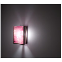 WPT Design FN2IO-BZ-MER F/N 2IO 1 Light 8 inch Bronze ADA Wall Sconce Wall Light in Merlot alternative photo thumbnail