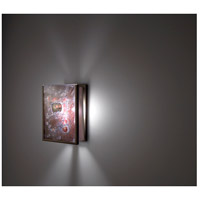 F/N 2IO 1 Light 8 inch Bronze ADA Wall Mount Wall Light in Wired Rose