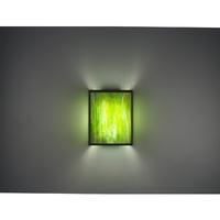 WPT Design 2 Light 8 inch Bronze Wall Sconce Wall Light
