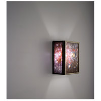 F/N 3IO 1 Light 8 inch Bronze ADA Wall Mount Wall Light in Wired Rose