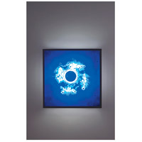 F/N Big 4 Light 24 inch Bronze ADA Wall Mount Wall Light in Wired Blue