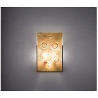 WPT Design FNJUDY-BZ-ALD F/N Judy 2 Light 12 inch Bronze ADA Wall Sconce Wall Light in Amber Lemon Drop