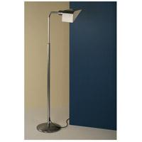WPT Design FACE-BN Face 39 inch 75 watt Brushed Nickel Floor Lamp Portable Light