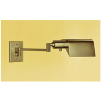 WPT Design FACEPARED-BN Face-Pared 20 inch 60 watt Brushed Nickel Swing Arm Wall Sconce Wall Light