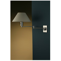Imago 26 inch 100 watt Polished Chrome Swing-Arm Sconce Wall Light