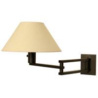 WPT Design MASTER-BZ Master 1 Light 13 inch Bronze Wall Sconce Wall Light