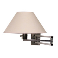 WPT Design MASTER-CR Master 1 Light 13 inch Polished Chrome Wall Sconce Wall Light