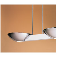 Pascal 2 Light 10 inch Polished Chrome Pendant Ceiling Light