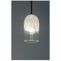 WPT Design ROSE-CYL-CLWH-BZ-17 Rose Cylinder 1 Light 6 inch Bronze Pendant Ceiling Light in 17 Clear White