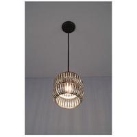 WPT Design SEC-BZ-PEND-SM-16 Secola 1 Light 8 inch Bronze Pendant Ceiling Light in 16 Small