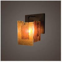 WPT Design SP-BZ-SINGLE-SCONCE Spider Mica 1 Light 9 inch Bronze Wall Sconce Wall Light in 11