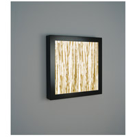 V-II Square 4 Light 24 inch Bronze ADA Wall Mount Wall Light in Thatch