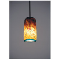 WPT Design WC-BZ-PEND-TALL-15 Whitney 1 Light 4 inch Bronze Pendant Ceiling Light in 15