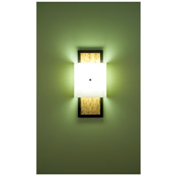 Windows 2 Light 12 inch Bronze ADA Wall Sconce Wall Light in White, Sorghum