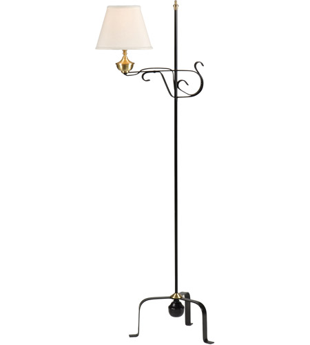 Wildwood Lamps 1 Colonial 54 inch 60 watt Floor Lamp Portable Light photo