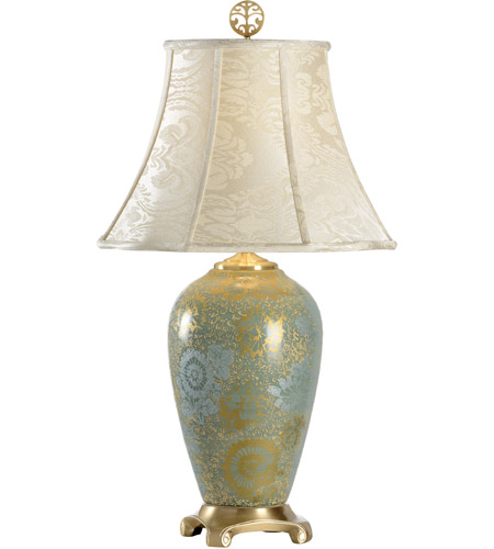Wildwood Lamps Hidden Pattern Table Lamp in Hand Painted Kutani Porcelain 1027 photo
