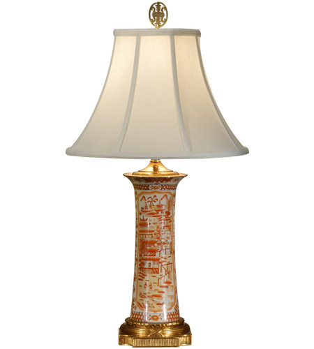 Wildwood Lamps Flower Spill Table Lamp in Antique Bronze 1110 photo