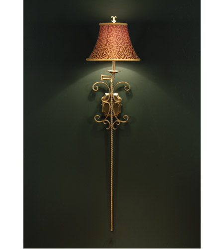 Wildwood Lamps Signature Sconce in Antique Patina 1144 photo
