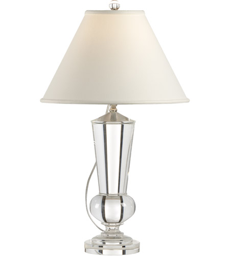 Wildwood Lamps Crystal Urn Table Lamp In Solid Crystal 1152