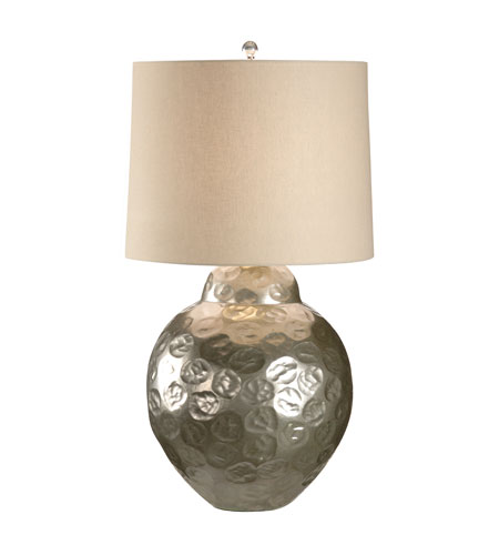 Wildwood Lamps Discovery 1 Light Crinkle Dimple Table Lamp in Cast Aluminum Alloy 12540 photo