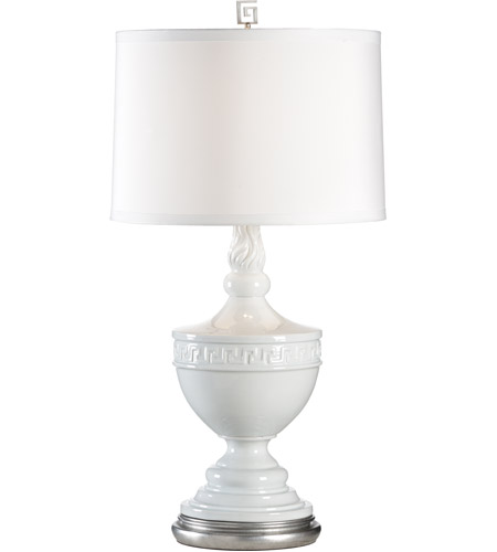 White Glaze Table Lamps