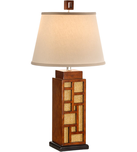 Wildwood Lamps Maze And Cane Table Lamp in Craftsman Made And Finished 15606 photo