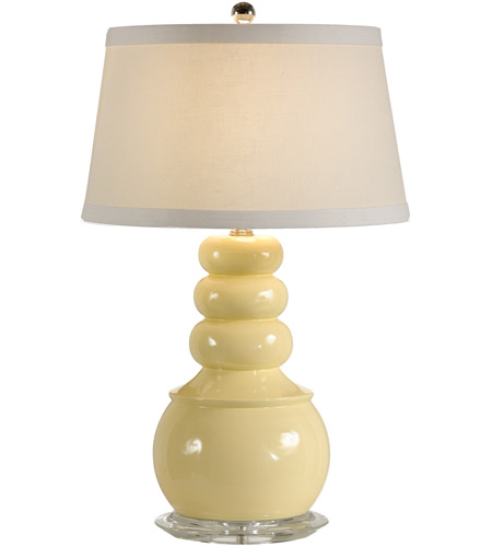 Wildwood Lamps Floats On Top Table Lamp in Artist Colored Composite Vase 15668 photo