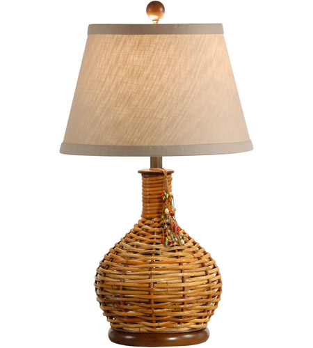 Wildwood Lamps Bottle Of Twigs Table Lamp in Carribean Natural With Black Base 15691 photo