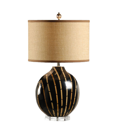 Wildwood Lamps Tommy Bahama 1 Light Bamboo Stripes Table Lamp 15738 photo