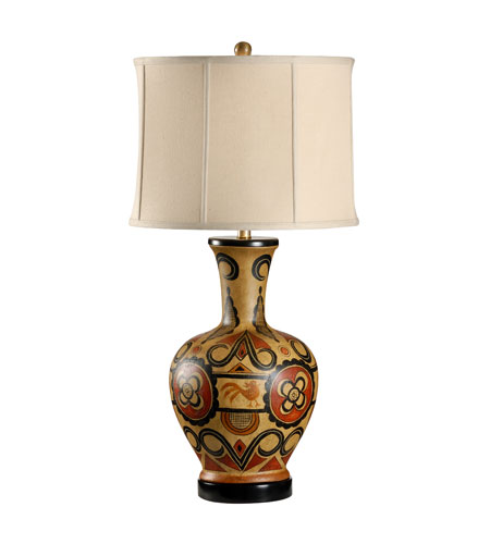 Wildwood Lamps Museum of New Mexico 1 Light Hand Painted Tonala Table Lamp 16112 photo