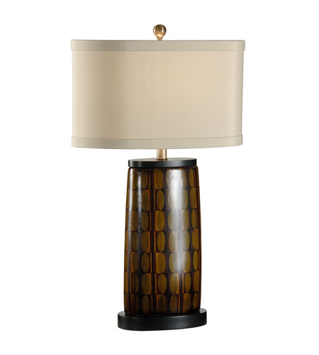 Wildwood Lamps Museum of New Mexico 1 Light Osho Table Lamp in Ebony 16121 photo