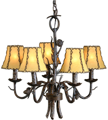 Country Iron Chandeliers